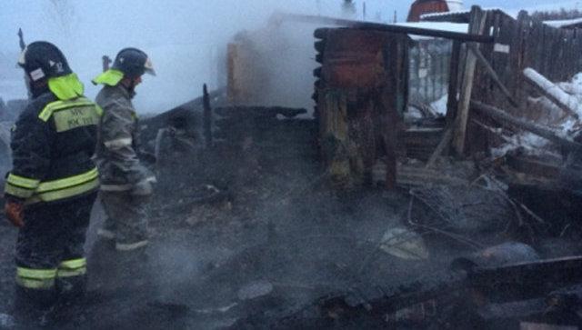 СК завел дело после гибели пяти человек при пожаре в Иркутской области