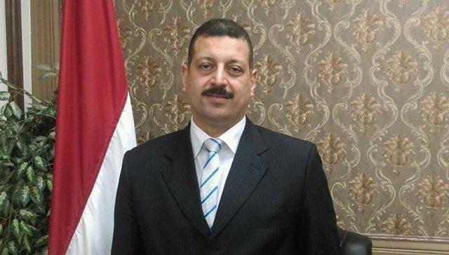 Официальный представитель министерства электроэнергетики и возобновляемых источников энергии Египта Айман Хамза. Архивное фото