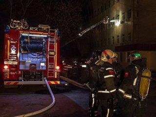 Пожарный автомобиль. Архивное фото