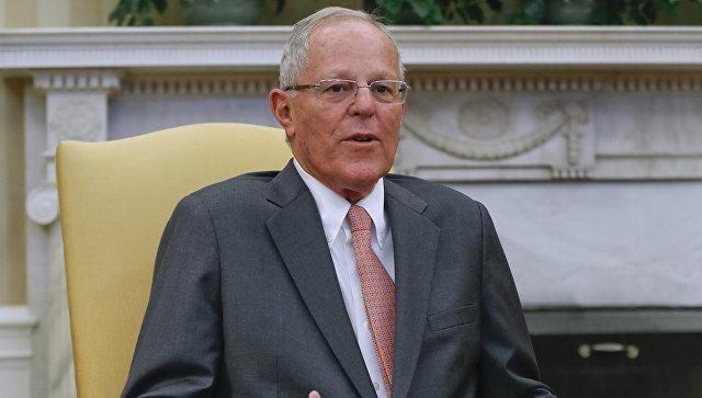 Президент Перу Педро Кучински. Архивное фото