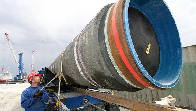 Cтроительство газопровода Северный поток (Nord Stream). Архивное фото