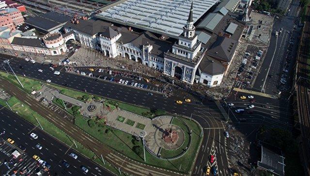 Казанский вокзал на Комсомольской площади в Москве. Архивное фото
