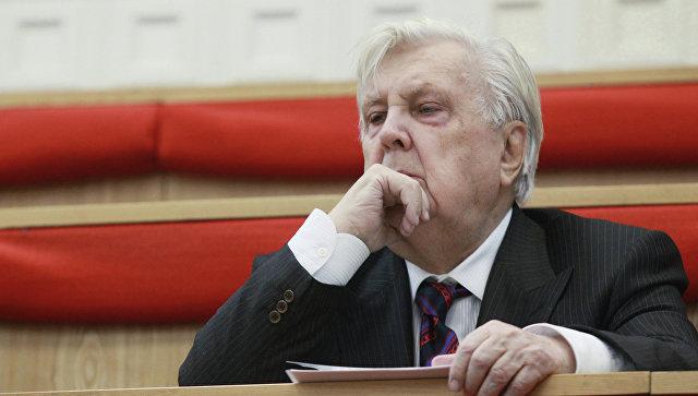 Академик РАХ, основатель и ректор Российской академии живописи, ваяния и зодчества Илья Глазунов. Архивное фото