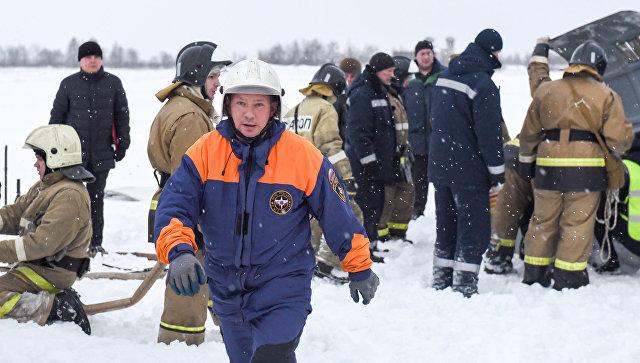 Среди погибших при падении самолета АН-2 есть ребенок