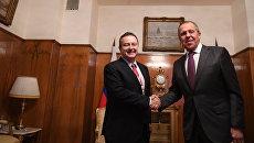 Министр иностранных дел РФ Сергей Лавров и министр иностранных дел Сербии Ивица Дачич. Архивное фото