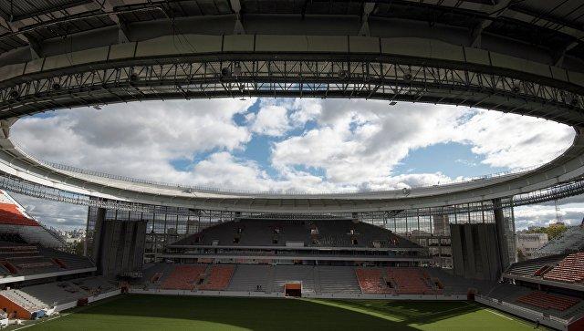 Центральный стадион в Екатеринбурге. Архивное фото