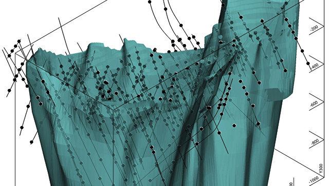 Компьютерная модель Ковдорского месторождения