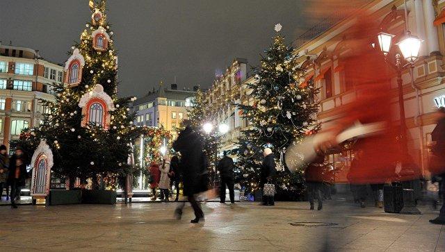 Новогоднее оформление навсе 100% демонтируют в столице до3марта