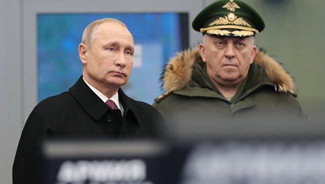 Путин оценил на«отлично» действия русских военных вСирии