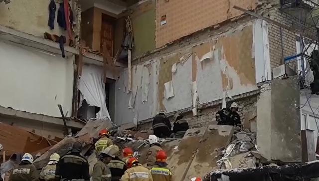 СКР возбудил дело после обрушения части дома под Иваново
