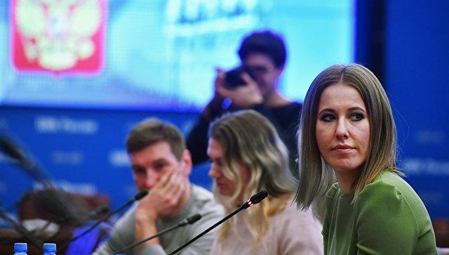 Ксения Собчак подаст документы вЦИК вначале рабочей недели