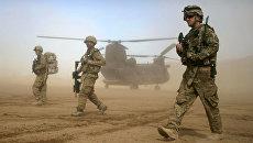 Военнослужащие США в Афганистане. Архивное фото