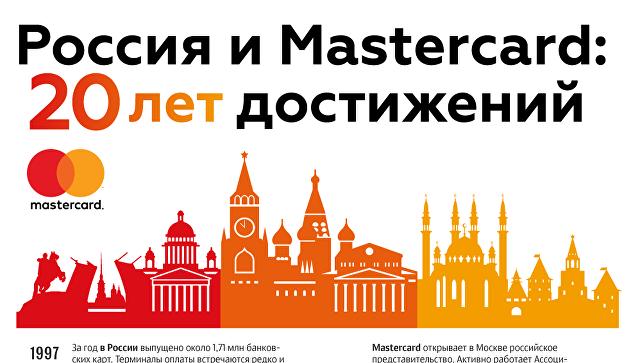 Россия и Mastercard: 20 лет достижений