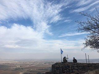 Ситуация на сирийско-израильской границе. Архивное фото