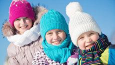 Зимний отдых детей. Архивное фото