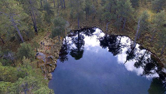 На дне высокогорного озера в Мексике нашли древнюю «модель» Вселенной