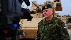 Командующий Силами обороны Эстонии, генерал-лейтенант Рихо Террас
