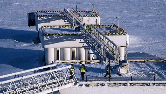 Завод по производству сжиженного газа Ямал СПГ. Архивное фото