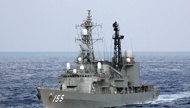 Эсминец Морских сил самообороны Японии. Архивное фото