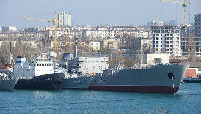 Бывшие корабли ВМС Украины в Севастополе. Архивное фото