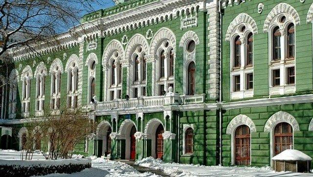 Здание химического факультета Одесского национального университета им. Мечникова