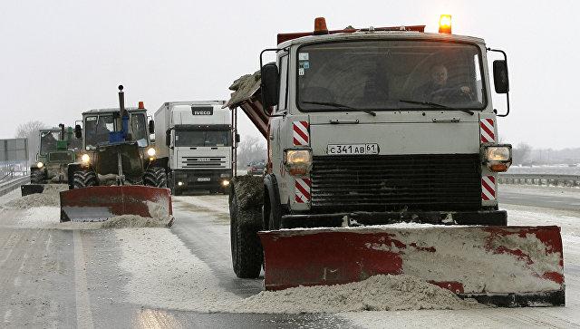 Трасса М-4 в районе Ростова