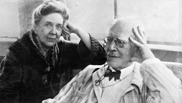 Константин Станиславский и его жена Мария Лилина