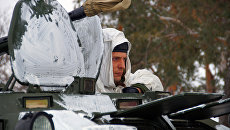 Военнослужищий инженерной роты армии ЛНР. Архивное фото