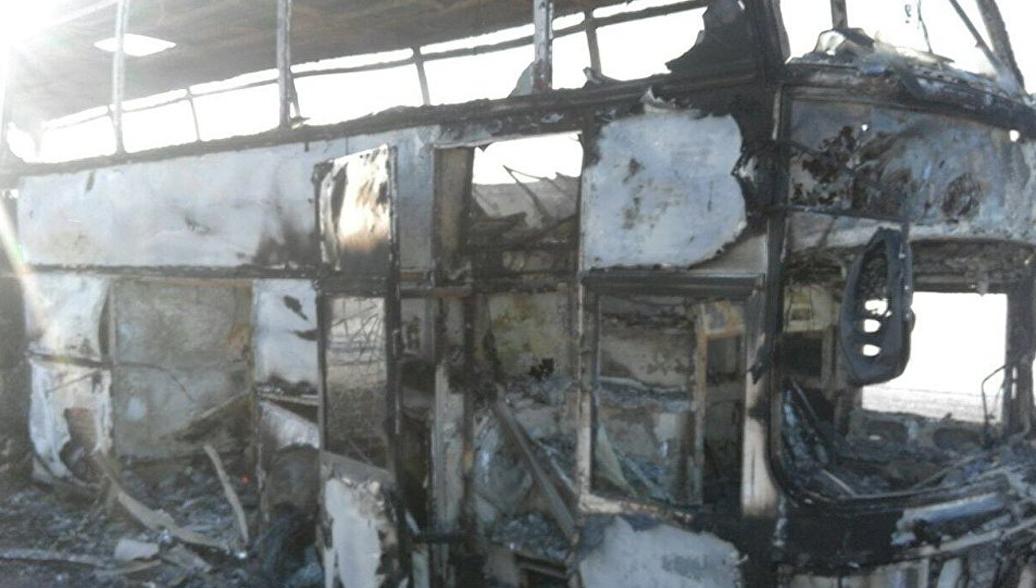 Стали известны подробности трагедии с автобусом в Казахстане