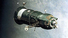 Первый советский транспортный корабль Прогресс-1.  20 января 1978 года