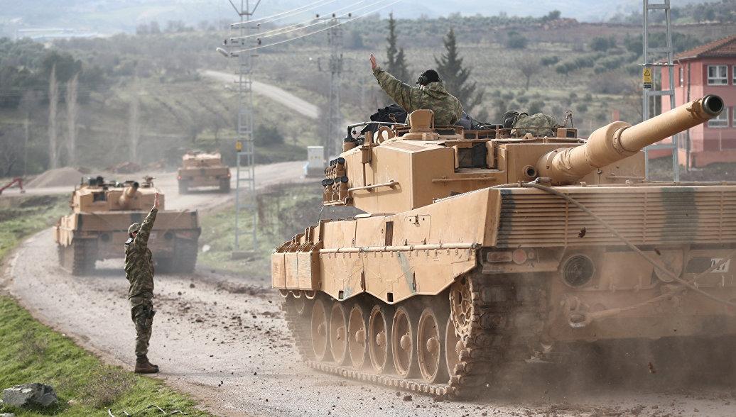 Турецкий премьер назвал цель операции в Африне