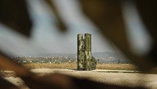 Зенитно-ракетный комплекс С-400 в Сирии. Архивное фото