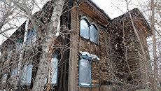 Томская деревянная синагога. Архивное фото