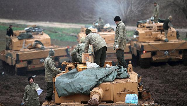 Турция расширит военную операцию за пределы Африна, заявил Эрдоган