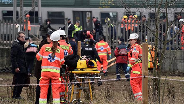 Уточнено число жертв при крушении поезда вИталии