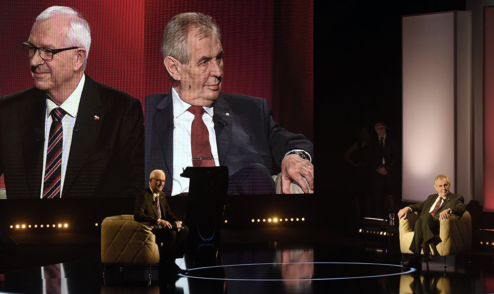 ВЧехии стартовал 2-ой тур президентских выборов