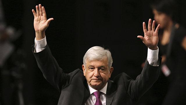 """В Мексике лидер президентской гонки пошутил про """"российскую помощь"""""""