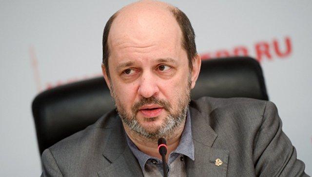 Советник президента РФ по развитию интернета Герман Клименко на конференции Криптовалюты и блокчейн: проблемы и перспективы для бизнеса. 26 января 2018