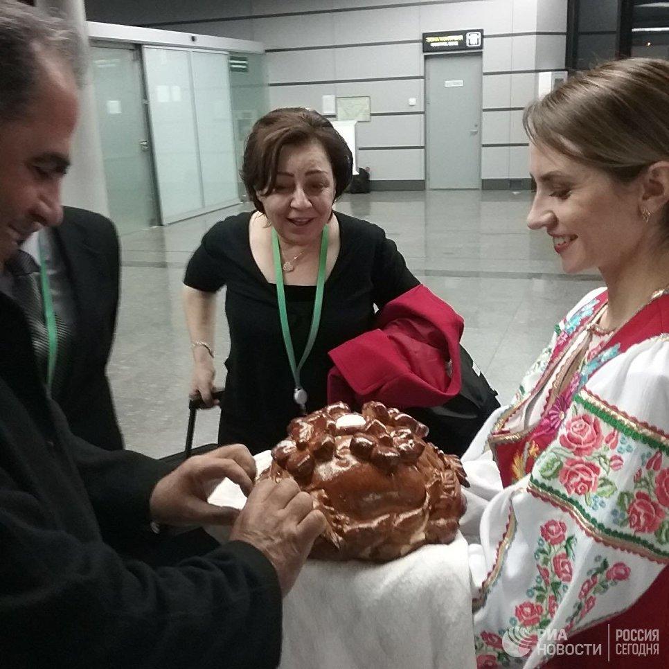 Первые участники конгресса сирийского нацдиалога прибыли вСочи
