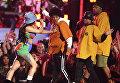 Выступление Бруно Марс и Cardi B на 60-й церемонии Грэмми. 28 января 2018 года