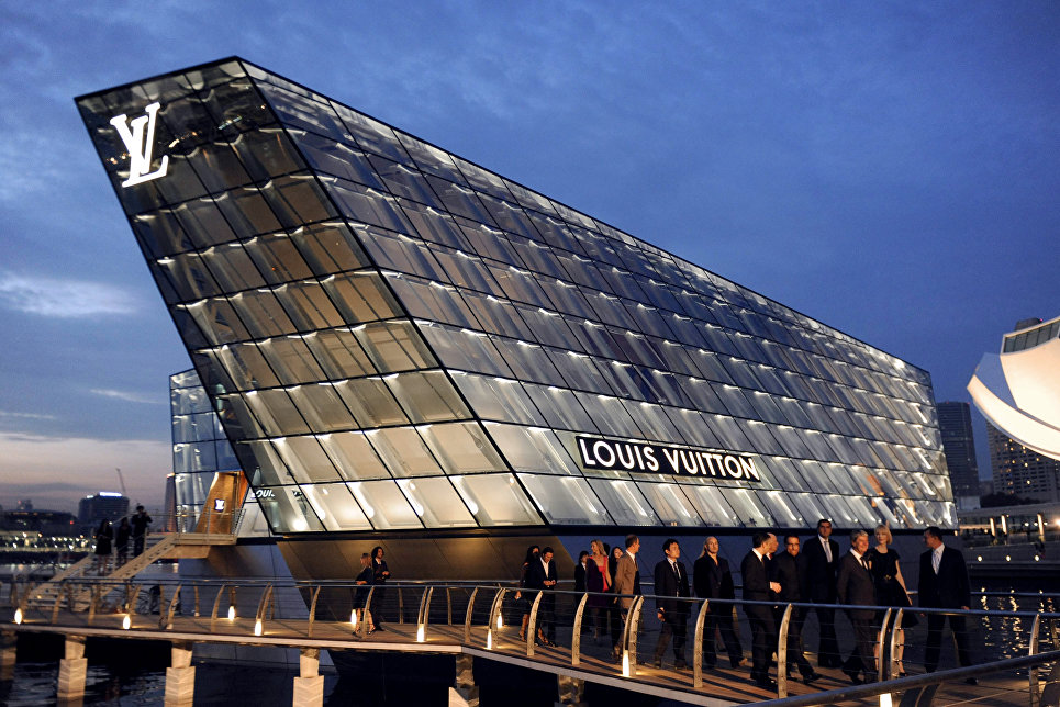 Louis Vuitton  в Сингапуре
