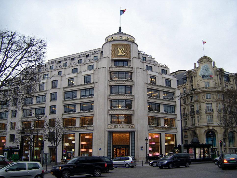 Louis Vuitton в Париже