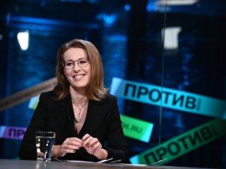 Телеведущая, кандидат на президентских выборах в 2018 году Ксения Собчак. Архивное фото