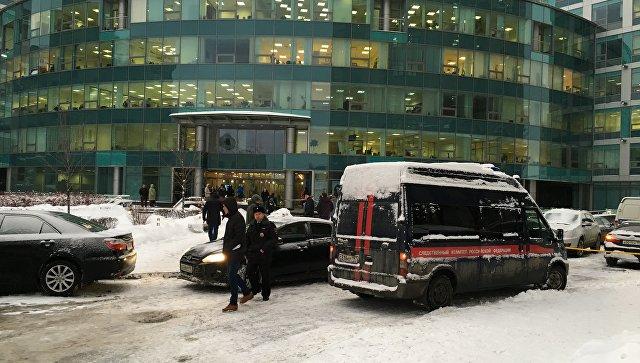 В московском бизнес-центре произошла стрельба