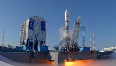 Старт ракеты-носителя Союз-2.1а с космодрома Восточный. Архивное фото