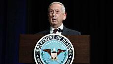 Министр обороны США Джеймс. 2 февраля 2018
