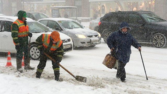 Столичное МЧС создало оперативный штаб всвязи снепогодой