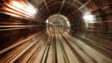 Тоннель метро. Архивное фото