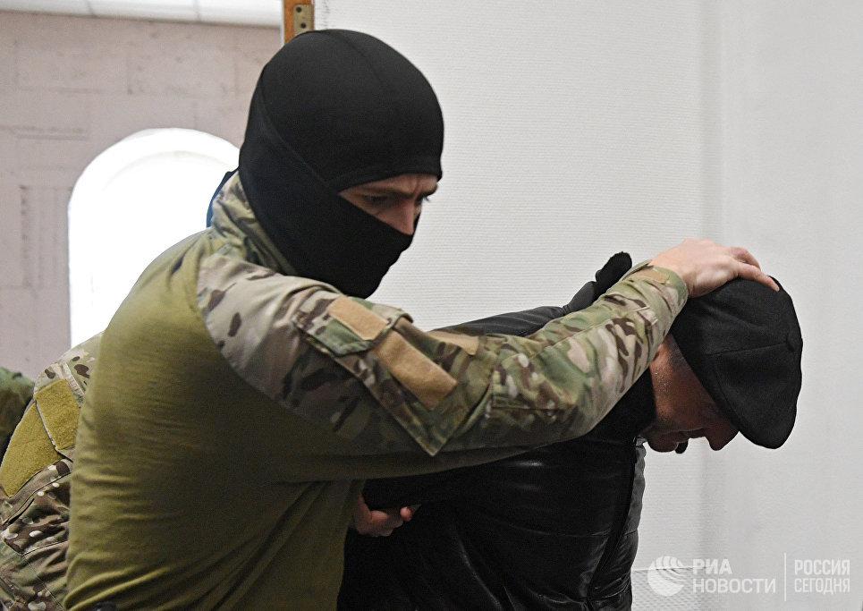 Экс-министр образования Республики Дагестан Шахабас Шахов в Бассманом суде Москвы