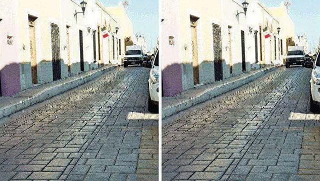 В социальных сетях пробуют разгадать иллюзию непараллельных параллельных улиц